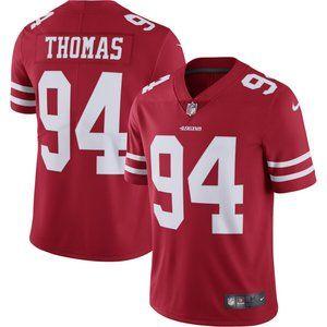 Men's San Francisco 49ers Thomas Nike Jersey